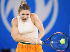 simona halep recovers to beat polona hercog venus williams wins in miami