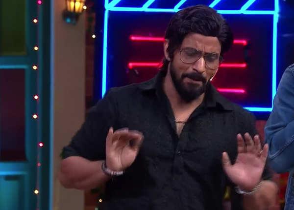 राजीव बने शाहरुख खान