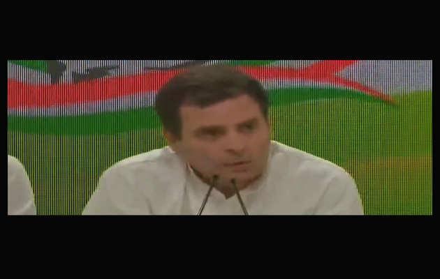 लोकसभा चुनाव 2019: राहुल गांधी का वादा, गरीबों को हर साल देंगे 72 हजार रूपये