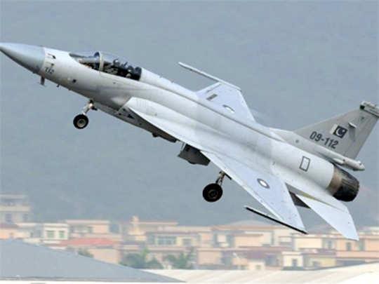 भारताविरुद्ध जेएफ-१७ लढाऊ विमानाचा वापर