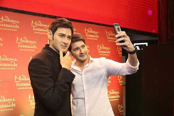 mahesh babu exclusive interview on wax statue
