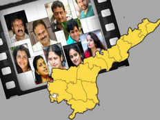why tollywood celebrities are interested to work with ysrcp and slams tdp