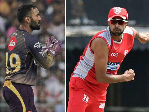 दिनेश कार्तिक और आर. अश्विन की टीमों के बीच आज मैच होगा।