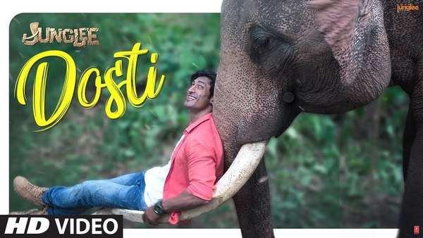vidyut jamwal starrer movie junglee new song dosti