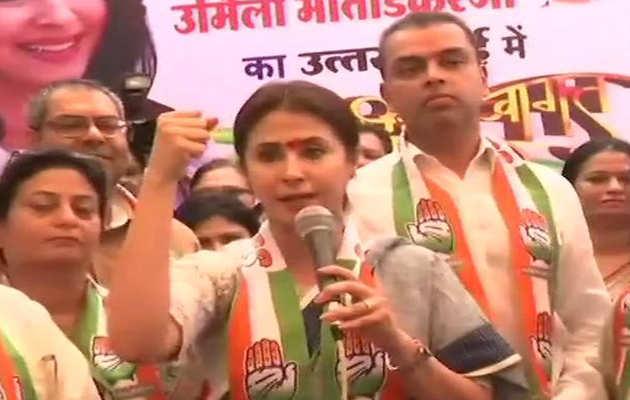 मुंबई: कांग्रेस उम्मीदवार उर्मिला मातोंडकर ने प्रचार अभियान शुरू किया