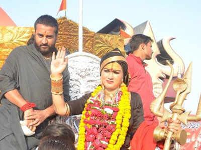 फाइल फोटो: कुंभ के दौरान भवानी मां