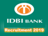 industrial development bank of india idbi bank has released notification for recruitment of assistant manager posts