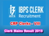 institute of banking personnel section has released clerk main results 2018