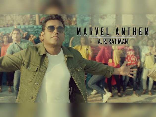 Avengers:Endgame: एआर रहमान का 'मार्वल ऐंथम'