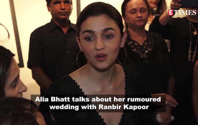 रणबीर संग शादी की खबरों पर आलिया भट्ट ने तोड़ी चुप्पी