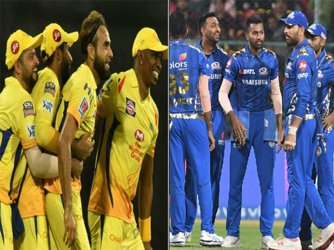 मुंबई वि. चेन्नई: या पाच खेळाडूंवर नजर