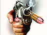 shot fired at liquor trader case registered against seven men in jind