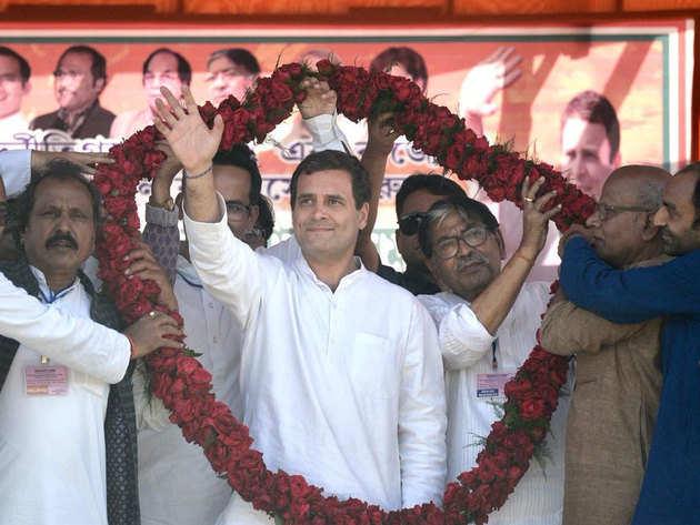 वायनाड से चुनावी जंग में उतरे राहुल गांधी