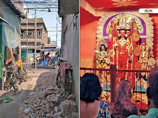 west bengal howrah bally heritage building nahabat khana demolished