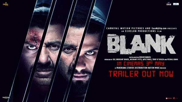 trailer of sunny deol and karan kapadia starrer blank