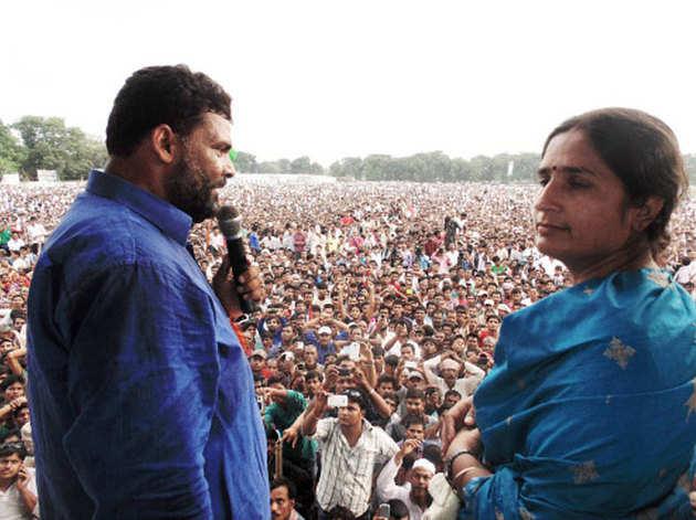 फाइल फोटो: पप्पू यादव और उनकी पत्नी रंजीता रंजन