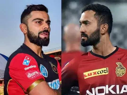 IPL: बेंगळुरू वि. कोलकाता सामन्याचे लाइव्ह अपडेट्स