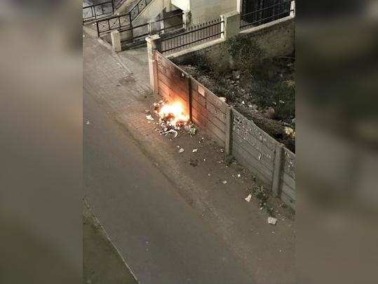 GARBAGE BURNING BY CITIZENS
