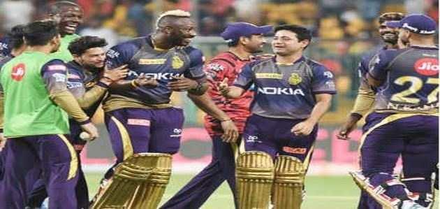 आईपीएल: RCB की लगातार पांचवीं हार, रसेल की धुआंधार पारी