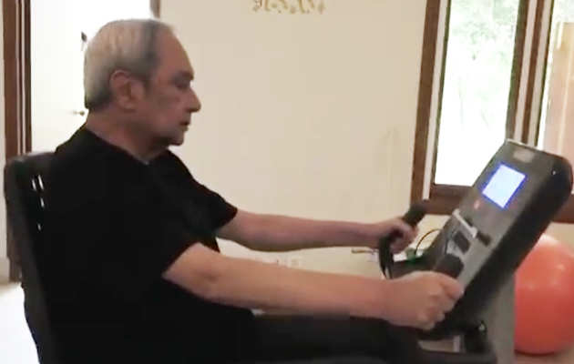 ओडिशा CM नवीन पटनायक लोकसभा चुनाव से पहले फिटनेस पर कर रहे हैं कड़ी मेहनत, विडियो वायरल