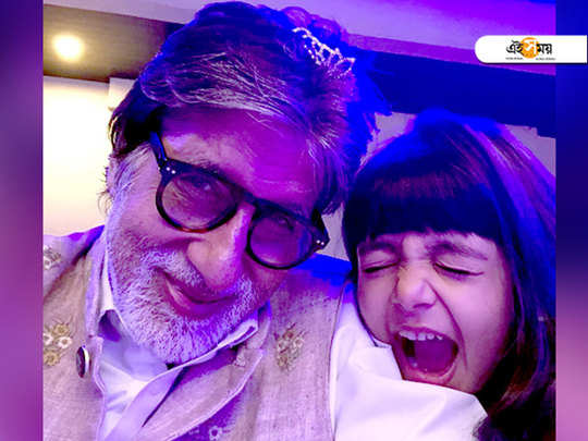 amitabh bachchan enjoys it when aaradhya destroys his working desk at her free will