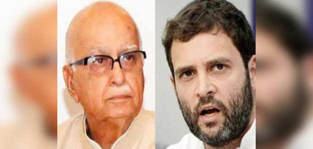 लोकसभा चुनाव: आडवाणी पर राहुल गांधी का फिर विवादास्पद बयान, तोड़ी भाषा की मर्यादा