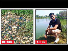 26 yr old engineer brings 10 ponds back to life quitting his job