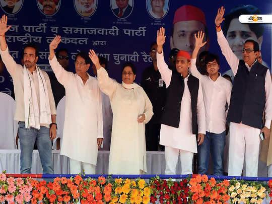 lok sabha election 2019 sp chief akhilesh yadav and bsp chief mayawati attacks bjp and congress