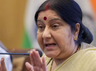 sushma swaraj said if terrorism is not issue then why rahul gandhi not returning spg security
