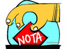 maharajganj voters pressed nota most in purvanchal during previous loksabha election