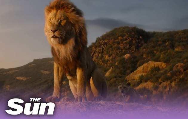 The Lion King ऑफिशल ट्रेलर