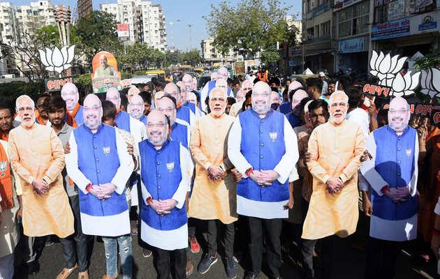 लोकसभा चुनाव: अहमदाबाद में अमित शाह के समर्थन में भाजपा का अनूठा प्रचार अभियान