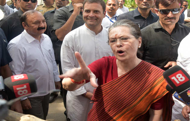 सोनिया गांधी ने कहा- 2004 के नतीजों को ना भूले BJP