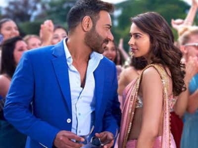 अजय देवगन और रकुल प्रीत सिंह