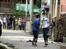 north kashmir polling day ends with teens death