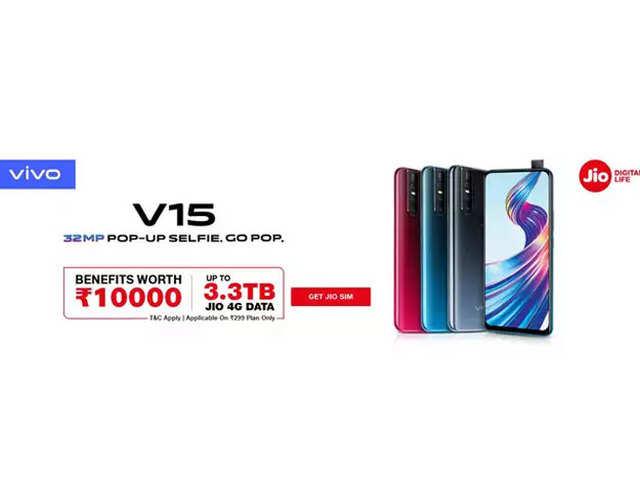 Vivo के स्मार्टफोन्स खरीदने पर Jio दे रहा ₹10000 तक के बेनिफिट
