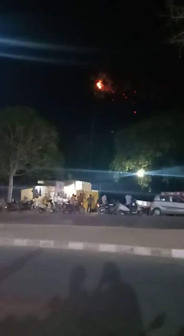 watch thunderstorm in hyderabads ghatkesar