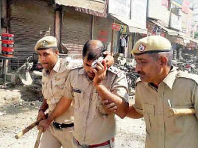 करनाल में पुलिस और ITI छात्रों के बीच हिंसक झड़प