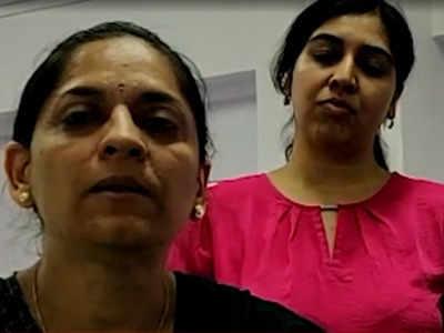 मनीषा ईनामदार (बाएं) और सलोनी सिन्हा (दाएं)