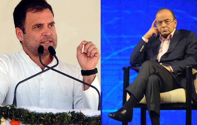 बिना मास्टर्स किए ही राहुल गांधी ने किया एम. फिल.: अरुण जेटली