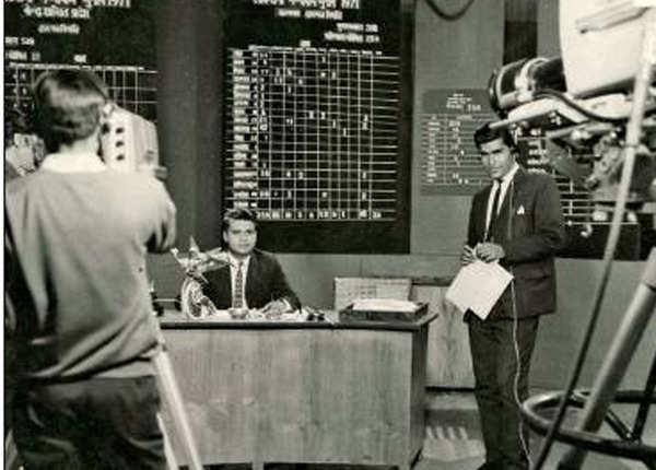 1971: चुनावों के टेलिविजन कवरेज की तैयारी