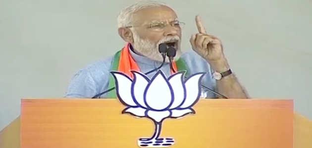 मुरादाबाद: PM मोदी ने दी पाकिस्तान को चेतावनी, तीसरी बार गलती की तो लेने के देने पड़ जाएंगे