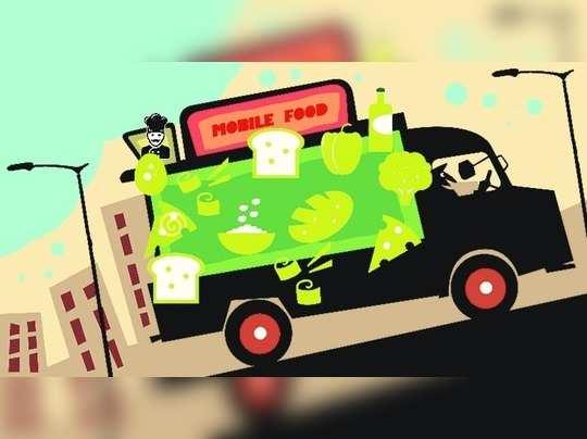 'फूड ट्रक'मुळे अपघाताचा धोका