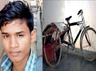 mirzapur student made bicycle operated garbage machine