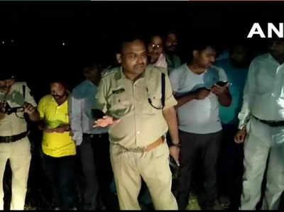 मौका-ए-वारदात पर पुलिस
