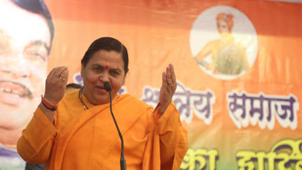 2019 lok sabha polls bjp leader uma bharti discussed decision to not contest elections