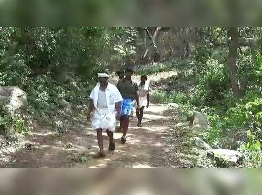 ஓட்டு போடமாட்டோம்..மலைகிராம மக்கள் துண்டுபிரசுரம் விநியோகிப்பு!