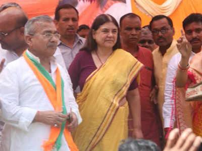 सुलतानपुर में मेनका गांधी