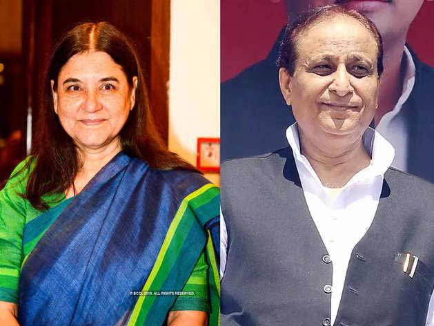 आजम खान और मेनका गांधी के खिलाफ कार्रवाई