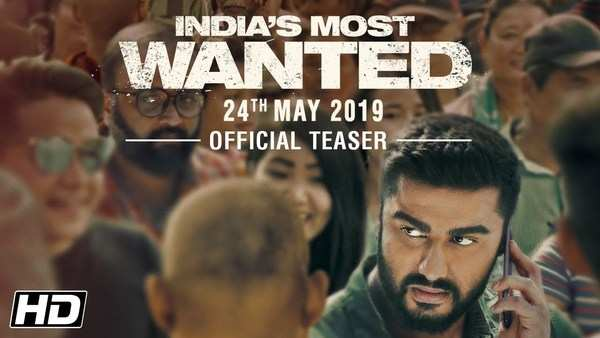 movie indias most wanted official teaser staring arjun kapoor